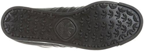 Adidas Samoa Cuir Baskets Black/Black/Black