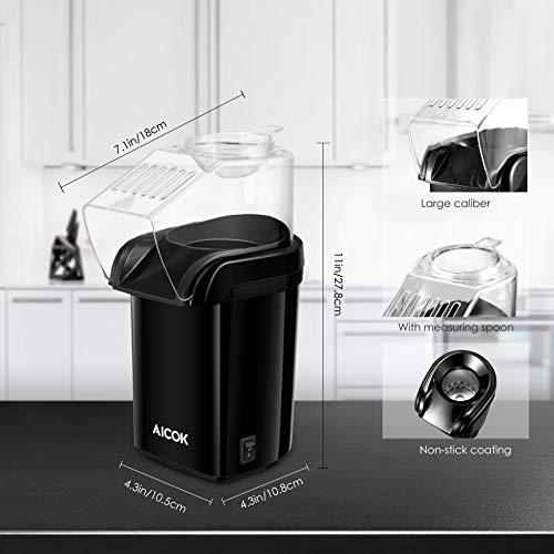 Aicok – Heißluft – Popcornmaschine - 5