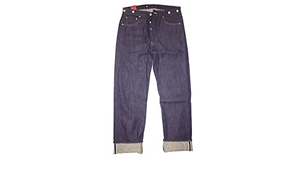 4f4f7fc3209 Levi's LVC Vintage Clothing 1915 501XX Made in USA Raw Selvedge Cone Denim  Jeans (32W x 34L): Amazon.co.uk: Clothing