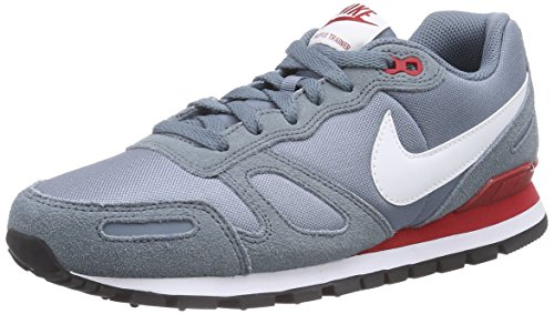 timeless design 24dcc fd0c8 Nike Men S Air Waffle Trainer Training Shoe Blue Graphite White Gym Red 8 D  M Us