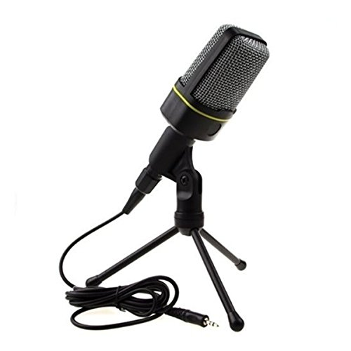 man-friday-podcast-studio-microphone-with-tripod-skype-webcast