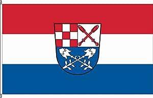 Hochformatflagge Burkardroth - 150 x 400cm - Flagge und Fahne