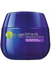 Garnier - SkinActive - Miracle Anti-Fatigue - Sleeping Crème - Soin visage anti-âge défatigant nuit