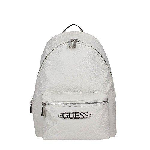 Guess LEEZA, Damen Rucksack/Rucksackhandtasche Farbe: Weiß/Chalk/White