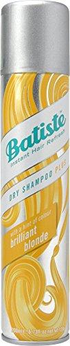 Batiste Trockenshampoo Dry Shampoo Brilliant Blonde mit einem Hauch von Farbe  für blondes Haar,  Frisches Haar für alle Haartypen, 1er Pack  (1 x 200 ml)