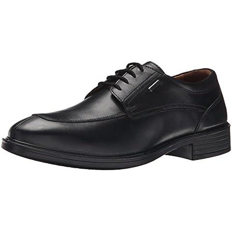 Geox U LORIS A ABX - Zapatos de cordones de cuero para hombre