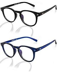 Ivonne new Collection Men's Sunglasses Blue & Black pack Of 2
