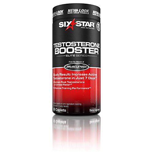 Six Star Testosterone Booster, Caplets, 60 ea by Six Star - Caps Testosteron