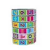 Hotaluyt Los niños Rompecabezas temprana Matemáticas de la educación del Juguete Digital Cubo de Rubik Matemáticas Puntales de Aprendizaje