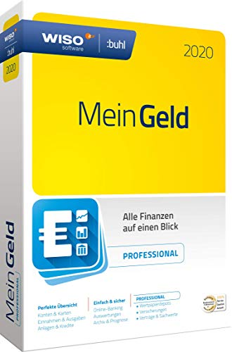 WISO Mein Geld Professional 2020 (WISO Software) | Disc in Standardverpackung