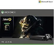 Microsoft XBOX one X 1 TB with Fallout 76 bundle