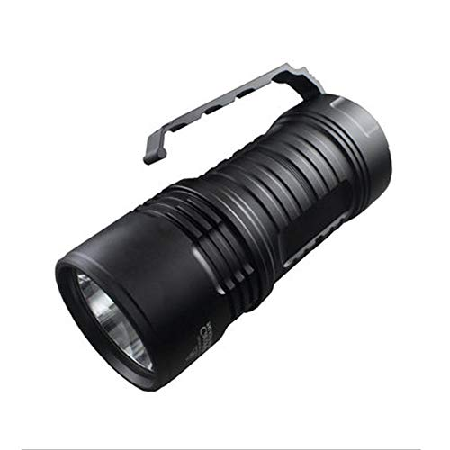 Anddod PALIGHT Boss2 HI 2000LM 4Modes High Performance Long-rang Portable Searching LED Flashlight - Cool White - Cool White High Output