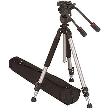 AmazonBasics Trépied pour caméscope avec sac 170 cm