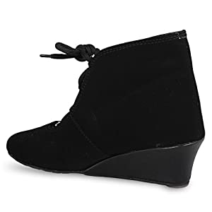 ANAND ARCHIES Women's Boots AA-181-BLACK-P