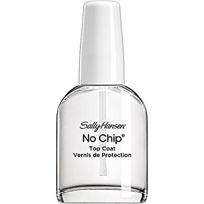 Sally Hansen No Chip Acrylic Top Coat, 13.3 ml, Packaging May Vary