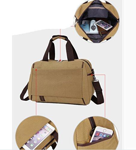 LAIDAYE Reise Seesack Großer Faltbare Sport Und Fitnessraum Duffle Bag Water-Resistant Spielraumduffle Tasche Mit Abnehmbarem 6