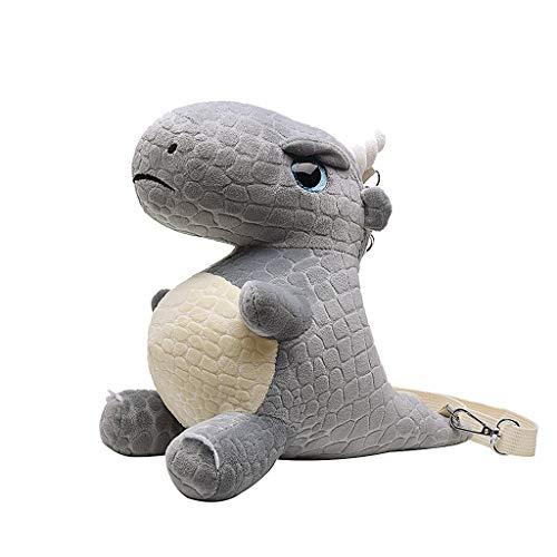 UmhäNgetasche, Chshe TM, Damenmode Kleine SüßE Dinosaurier-UmhäNgetasche UmhäNgetasche UmhäNgetasche Kinderhandtasche(Grau) - Spielzeug Pokemon Elektronische