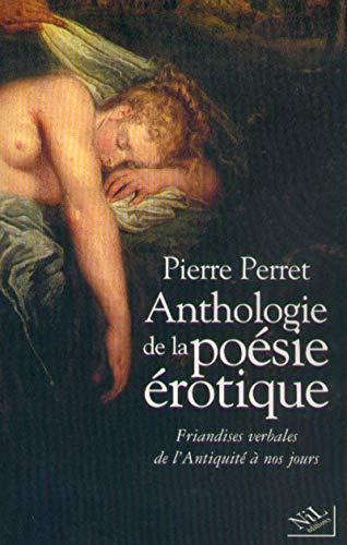 Anthologie de la poésie érotique - NE