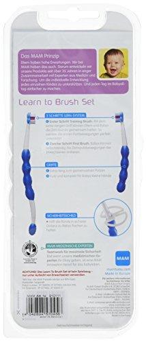 MAM 66910111 – Learn To Brush Set, Zahnbürsten für Jungen - 2