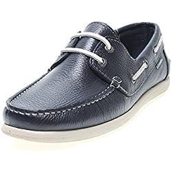 Zapatos Pitillos 331 - Náutico Piel Marino, color marino, talla 41