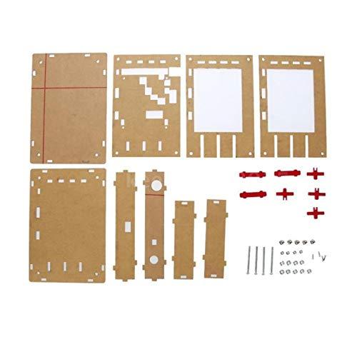 """Elviray Tragbare acryl case Box Shell für dso138 2,4\""""dünnschichttransistor oszilloskop kit DIY Machen elektronische diagnosewerkzeug"""