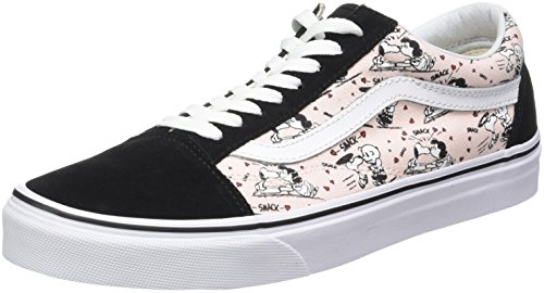 Vans Women's Peanuts Old Skool Trainers, Multicolour (Smack/Pearl (Peanuts)), 3 UK 35...