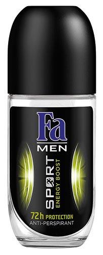 Unbekannt 12x Fa - Men Sport Energy Boost, 72h Deo Roll-on - 50ml