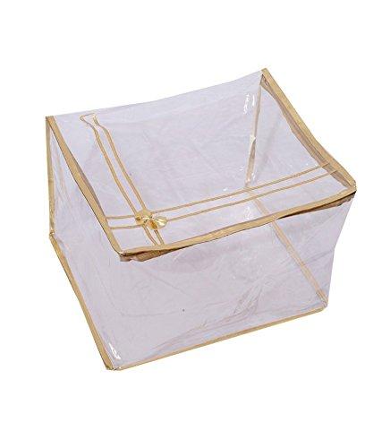 Kuber Industries™ Transparent Saree Cover (Extra Large Size)