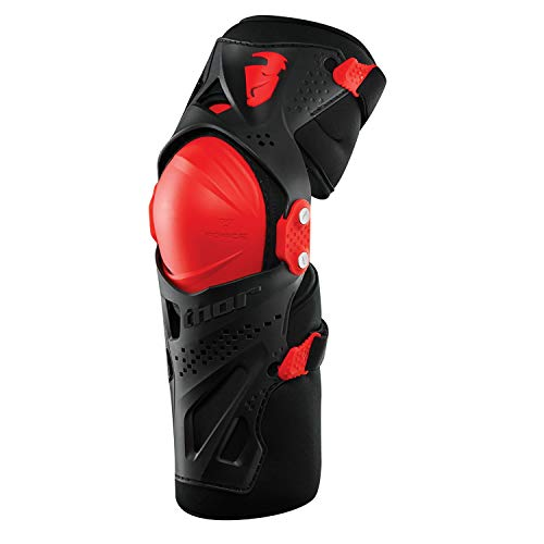 Thor Force Xp Knee Guards S16 Knee Protection XX Large/XXX Large Black Red