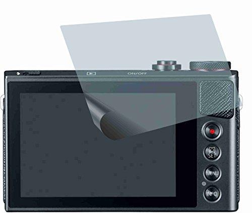 2x ANTIREFLEX matt Schutzfolie für Canon PowerShot G9 X Premium Displayschutzfolie Bildschirmschutzfolie Schutzhülle Displayschutz Displayfolie Folie (Canon Powershot Unterwasser-kamera)