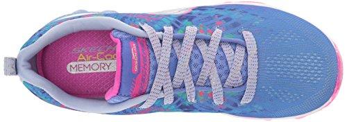 Skechers Skech-Air-Jump Around Toile Baskets Blue-Multi