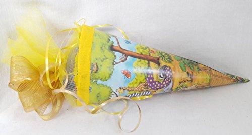 111613 Schultüte ABC gefüllt mit Schutzengel Flummi Yoyo Slinkie für Schulanfänger zum Schulanfang - 2