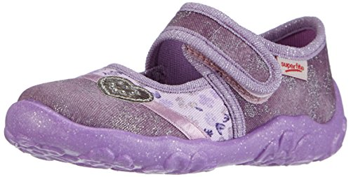 Superfit BONNY, Pantofole basse Ragazza Viola (Violett (MAGIC KOMBI 41))