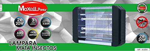 MAXELL POWER LAMPARA ELECTRICA ANTIMOSQUITOS ANTI-MOSQUITOS INSECTOS 80M 40W MATAMOSQUITOS