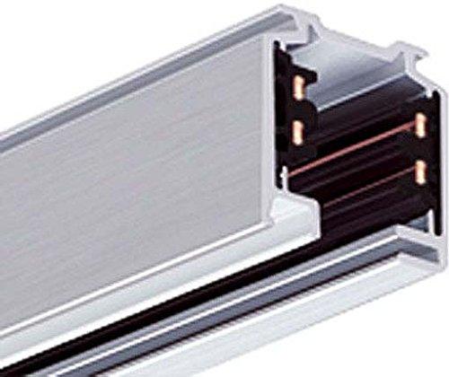 LTS Licht&Leuchten 3-Phasen-Aufbauschiene EU 10 sw-25-102 1000mm kürzbar Stromschiene 4043544027917 -