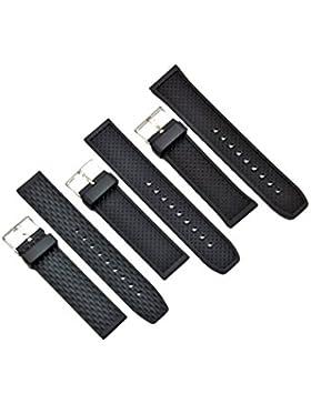Uhrenarmband Passend Casio Seiko Citizen Kautschuk 20-22-24mm Diver Armband 22 mm