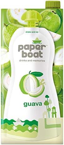 Paper Boat Guava Fruit Juice, No Preservatives and Colours  1L