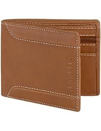 Laurels Orson Brown Color Men Leather Wallet- LWT-OSN-09
