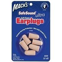 Mack 's SafeSound Ultra–Soft Schaum-Ohrstöpsel–3Paar 32dB preisvergleich bei billige-tabletten.eu