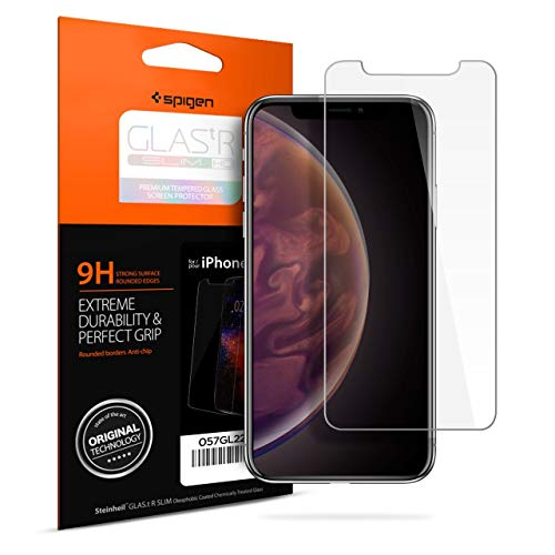 Spigen Tempered Glass Screen Protector for Apple iPhone Xs (2018) / iPhone X (2017) - 063GL24514