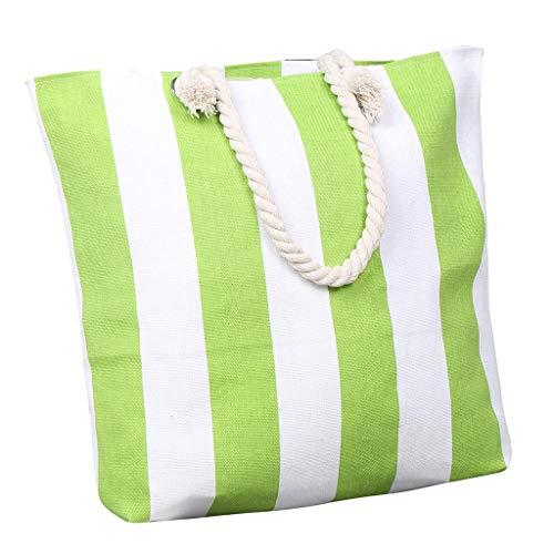 TTLOVE Lange Stofftasche Tragetasche Stoffbeutel Einkaufsbeutel Einkaufstasche Leinentasche Einkaufen Reisen UmhäNgetaschen Falten Eco Handtasche