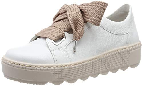 Gabor Shoes Damen Jollys Sneaker, Weiss (Antikrosa) 24, 40 EU