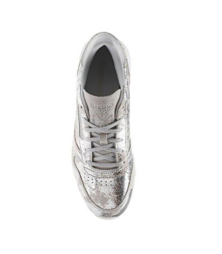 Reebok Metallic Sneaker Hype Metallisch Leather Classic Damen 0Ww0Yq1r