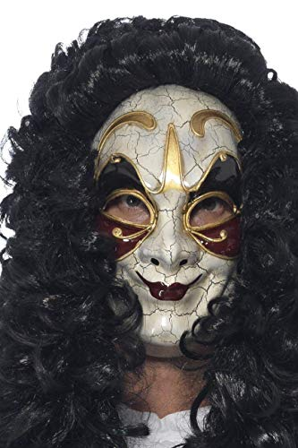 Smiffys 45225 - Maske Venezianischer Wegelagerer, beige