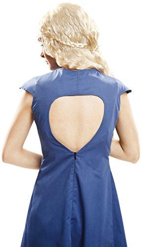 Imagen de my other me  disfraz de reina dragón para mujer, m l, color azul viving costumes 202062  alternativa