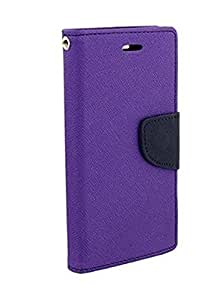 MEEPHONG FLIP COVER FOR Samsung galaxy S7 EDGE(PURPLE)