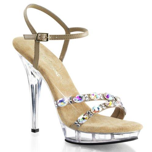 Heels-Perfect, alto donna Beige (Beige (Beige))