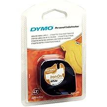 DYMO 12mm LetraTAG Iron-on cinta para impresora de etiquetas - Cintas para impresoras de etiquetas (Nylon, Ampolla, 2 m, 22 mm, 95 mm, 146 mm)