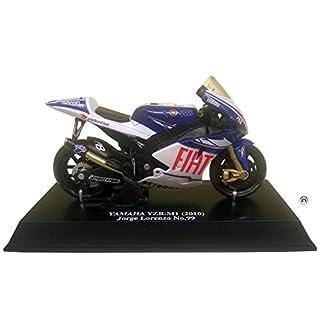 ADN-Auto 1Moto GP YZR Lorenzo M1–1/18–Team FIAT Yamaha