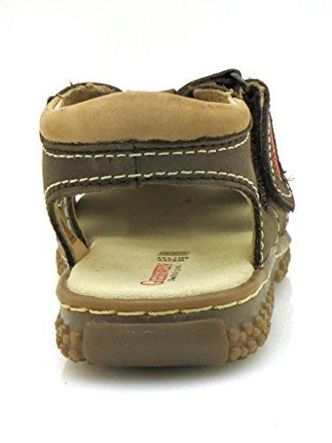 Giesswein miesbach solide en mode garçon chaussures d'été Marron - Marron